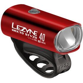 Lezyne Hecto Drive 40 Cykellygter StVZO Y11 rød